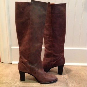 NWT J Crew Glenbrae Leather Boots. 9